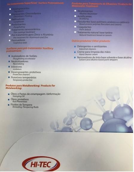 Indústria de produtos químicos em sp