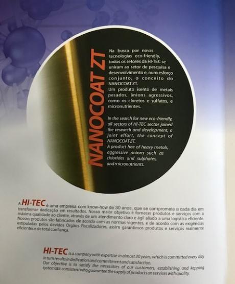 Produtos nanotecnologia
