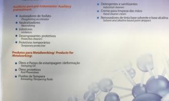 Produtos químicos para estação de tratamento de efluentes